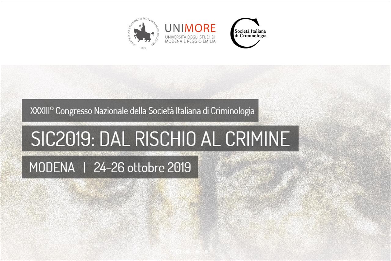"""25.10.2019 – HATEMETER at """"XXXIII° Congresso Nazionale della Società Italiana di Criminologia"""" , Modena (Italy)"""